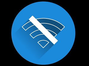 no wi-fi connection icon